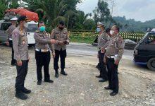 Photo of Dirlantas Polda Sumut Tinjau Longsor di Jalan Medan – Berastagi
